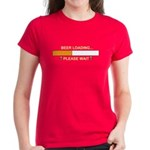 BEER LOADING... Women's Dark T-Shirt
