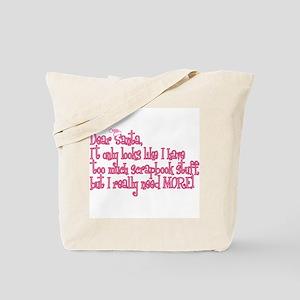 More! Tote Bag