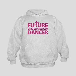 Future Bharatanaytam Dancer Kids Hoodie