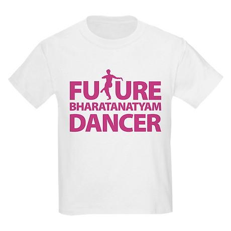 Future Bharatanaytam Dancer Kids Light T-Shirt