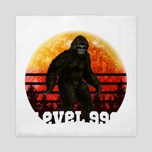 Bigfoot Hide & Seek Level 999 Worl Queen Duvet