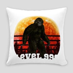 Bigfoot Hide & Seek Level 999 Everyday Pillow