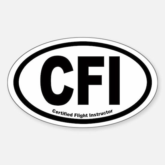 CFI Euro Oval Decal