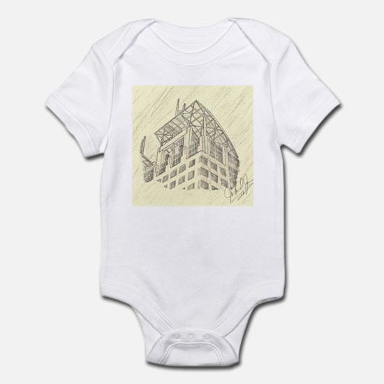 Mobile Court House Infant Bodysuit
