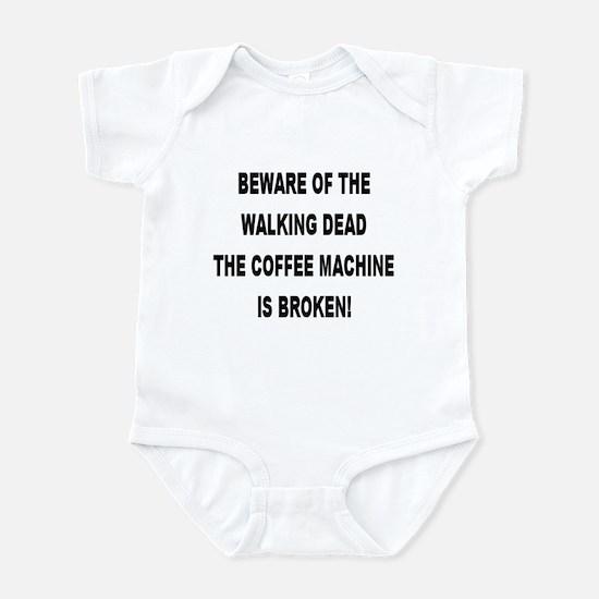 Beware Of The Walking Dead Infant Creeper