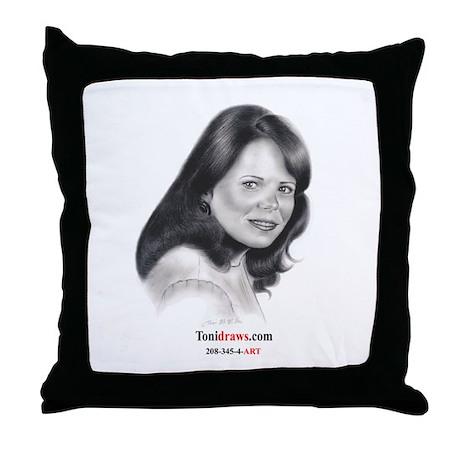Tonidraws.com Throw Pillow