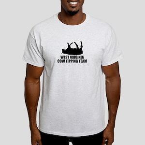 West Virginia Cow Tipping Team Light T-Shirt