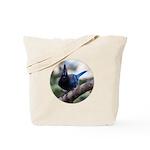 Steller's Jay Hollering Tote Bag