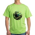 Steller's Jay Hollering Green T-Shirt