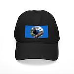 Steller's Jay Hollering Black Cap