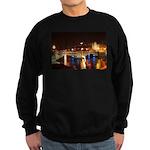 Nighttime on Bridge. Sweatshirt (dark)
