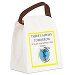 tennis Canvas Lunch Bag