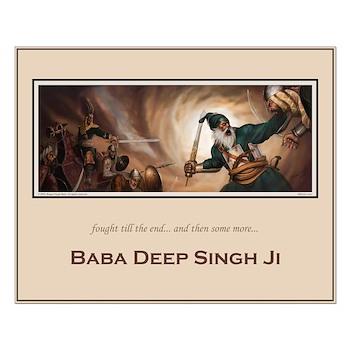 Baba Deep Singh poster 16x20