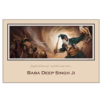 Baba Deep Singh Poster 23 X 35