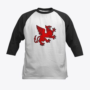 Red Griffin Kids Baseball Jersey