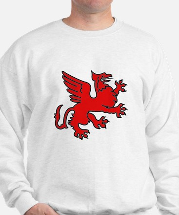 Red Griffin Sweater