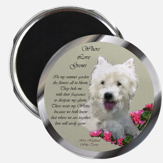 "Westie Art Gifts 2.25"" Magnet (10 pack)"