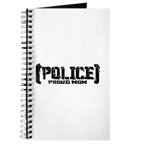 Police Proud Mom Journal