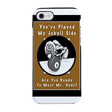 Jekyll Hyde 8 Ball Billiards iPhone 8/7 Tough Case