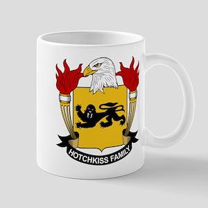 Hotchkiss Family Crest Mug