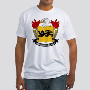 Hotchkiss Family Crest Fitted T-Shirt