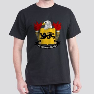 Hotchkiss Family Crest Dark T-Shirt