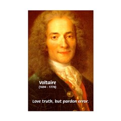 French Philosopher: Voltaire Posters