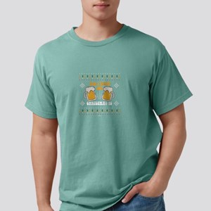All I Want For Christmas Is Beer Christmas T-Shirt