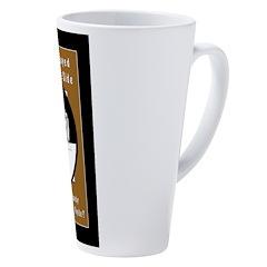 Jekyll Hyde 8 Ball Billiards 17 oz Latte Mug
