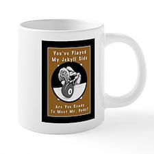 Jekyll Hyde 8 Ball Billiard 20 oz Ceramic Mega Mug