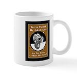 Jekyll Hyde 8 Ball Billiards 11 oz Ceramic Mug