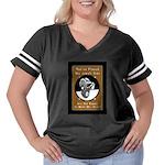 Jekyll Hyde 8 B Women's Plus Size Football T-Shirt