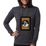 Jekyll Hyde 8 Ball Billiards Womens Hooded Shirt