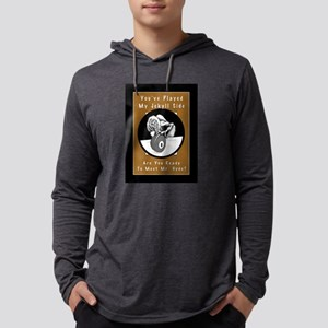 Jekyll Hyde 8 Ball Billiards Mens Hooded Shirt