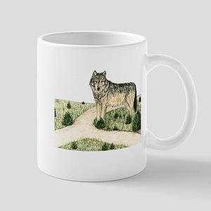 Crossroad Wolf Mug