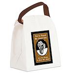 Billiards Monster 8 Canvas Lunch Bag