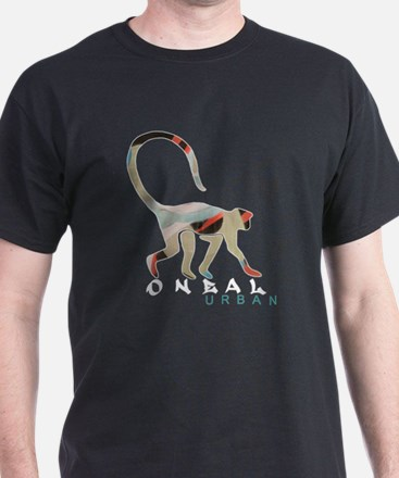 monkey black t T-Shirt