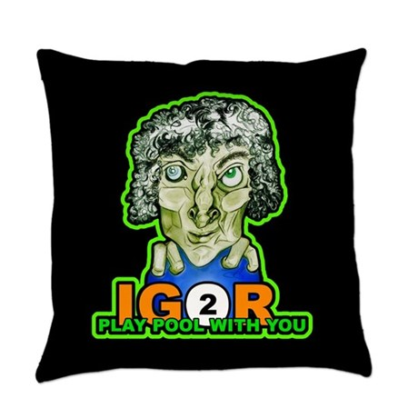 Igor 2 Play Pool Halloween Pillow