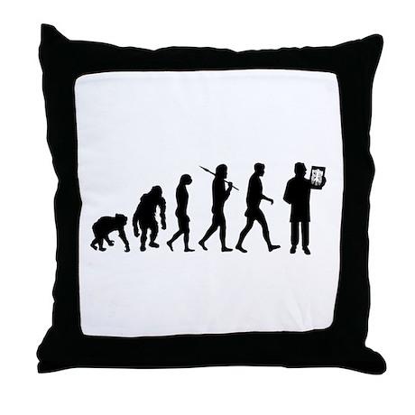 Radiologist Throw Pillow