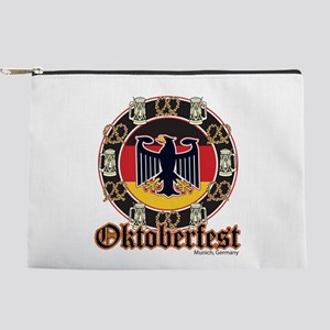 Oktoberfest Beer and Pretzels Makeup Bag