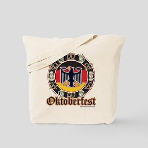 Oktoberfest Beer and Pretzels Tote Bag