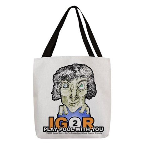 Igor 2 Play Pool Halloween Tote Bag