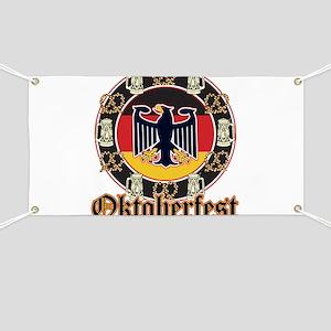 Oktoberfest Beer and Pretzels Banner