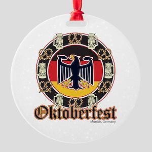 Oktoberfest Beer and Pretzels Ornament