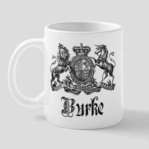 Burke Vintage Family Name Crest Mug