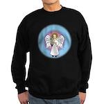 I-Love-You Angel Sweatshirt (dark)