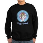 Holiday Angel Sweatshirt (dark)
