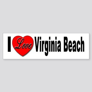 I Love Virginia Beach Bumper Sticker