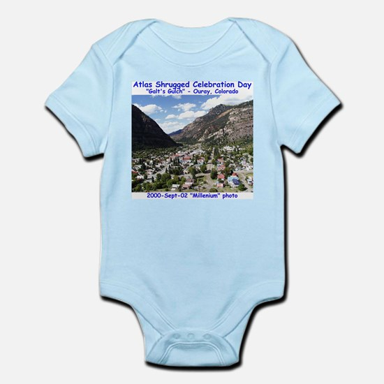Atlas Shrugged Celebration Day Infant Bodysuit
