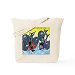 Saving Whales Tote Bag